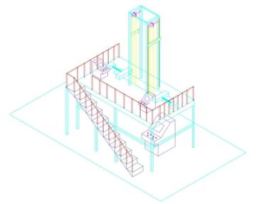 电梯电缆疲劳试验机